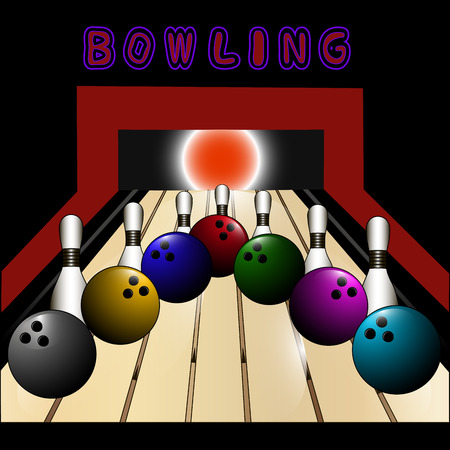 illustration for Bowling