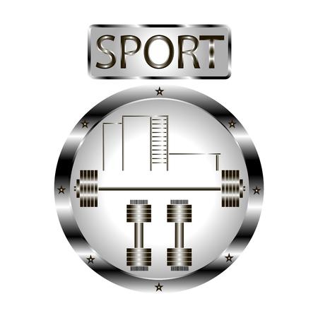 equipment: for a sports equipment. Illustration