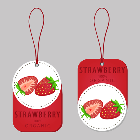 Rode strawberry.