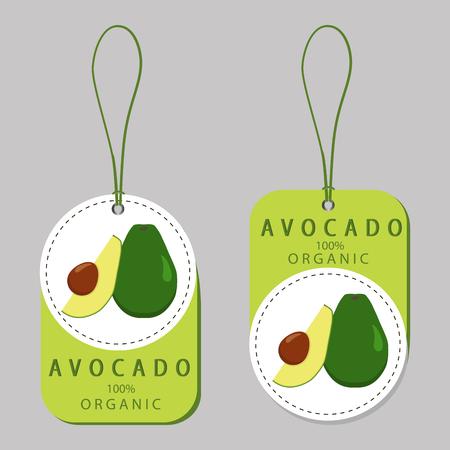 greens: greens avocado Illustration