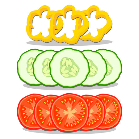 vector illustrationfor the theme of the vegetables