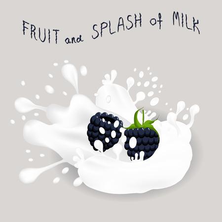 Vector icon illustration logo for black berry blackberry Ilustração