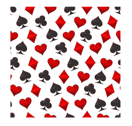 Abstract vector illustration for poker