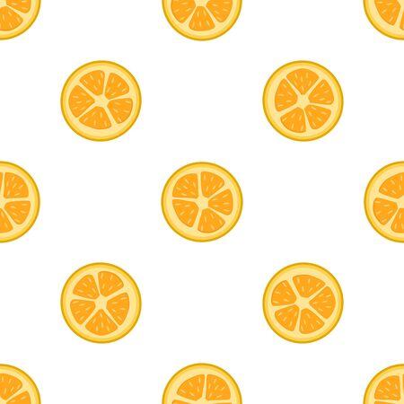 Illustration on theme big colored seamless kumquat, bright fruit pattern for seal. Fruit pattern consisting of beautiful seamless repeat kumquat. Simple colorful pattern fruit from seamless kumquat.