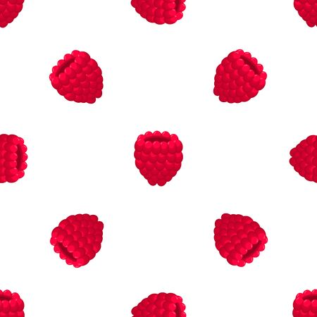 Theme big colored seamless red raspberry, bright berry pattern for seal. Berry pattern consisting of beautiful seamless repeat raspberry. Simple colorful pattern berry from seamless soft raspberry.