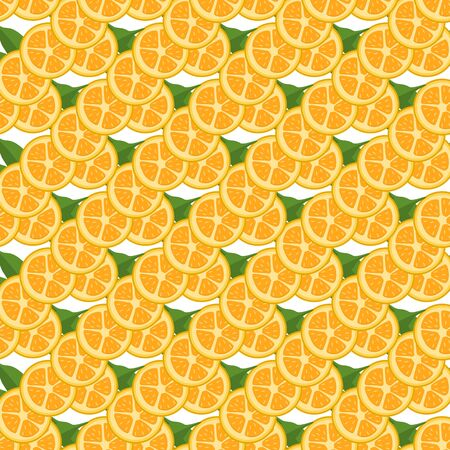 Illustration on theme big colored seamless kumquat, bright fruit pattern for seal. Fruit pattern consisting of beautiful seamless repeat kumquat. Simple colorful pattern fruit from seamless kumquat.