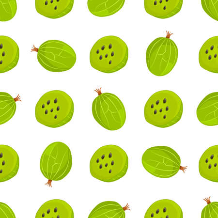 Theme big colored seamless gooseberry, bright berry pattern for seal. Berry pattern consisting of beautiful seamless repeat gooseberry. Simple colorful pattern berry from seamless soft gooseberry.