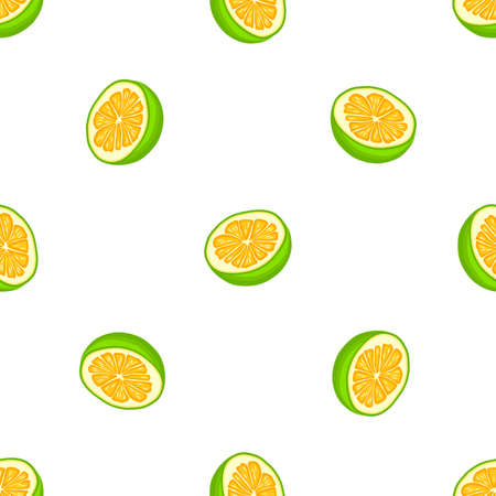 Illustration on theme big colored seamless pomelo, bright fruit pattern for seal. Fruit pattern consisting of beautiful seamless repeat pomelo. Simple colorful pattern fruit from seamless pomelo.