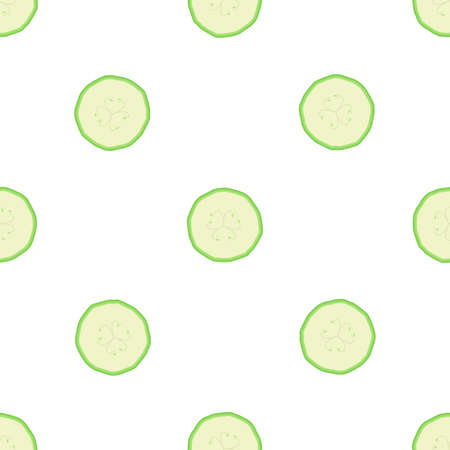Illustration on theme of bright pattern zucchini, vegetable squash for seal. Vegetable pattern consisting of beautiful zucchini, many squash. Simple colorful vegetable pattern from squash zucchini.