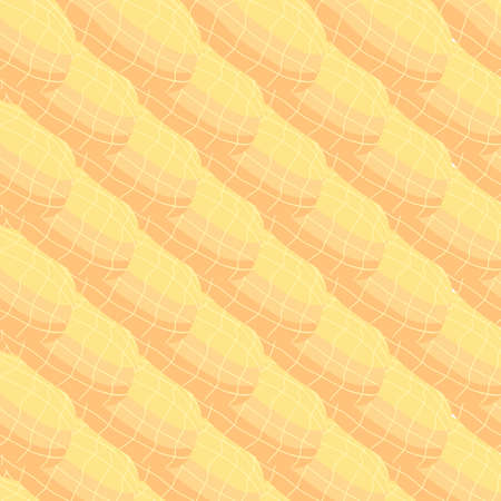 Illustration on theme big pattern identical types peanut, nut equal size. Peanut pattern consisting of natural nut for colored print on wallpaper. Abstract colorful pattern from many yummy nut peanut.