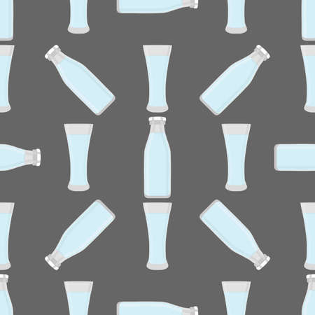 Illustration on theme colored set identical types glass cups for drinking water. Water pattern consisting of collection kitchen accessory, same glass cups to organic food. Tasty water in glass cups. Ilustração