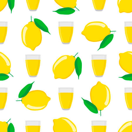 Illustration on theme big colored lemonade in lemon cup for natural drink. Lemonade pattern consisting of collection kitchen accessory, lemon cup to organic food. Tasty fresh lemonade from lemon cup.