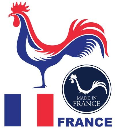 animal cock: Francia Vettoriali