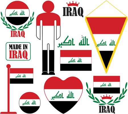 iraq: Iraq Illustration
