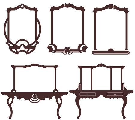 three leaved: Mirror