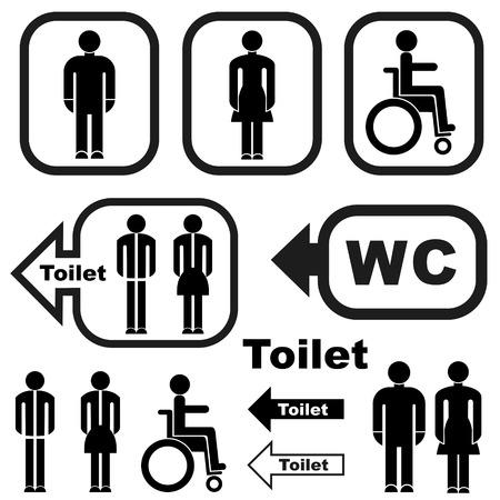 Toilet Иллюстрация