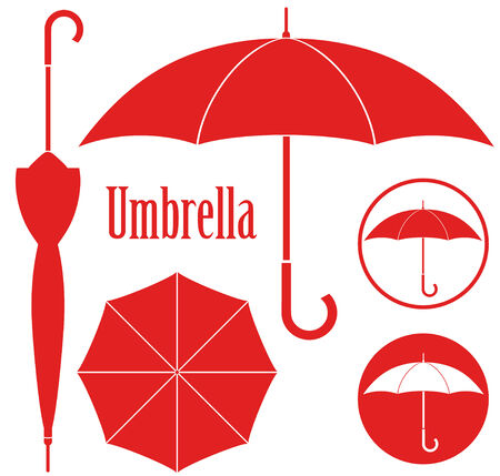 red umbrella: Umbrella