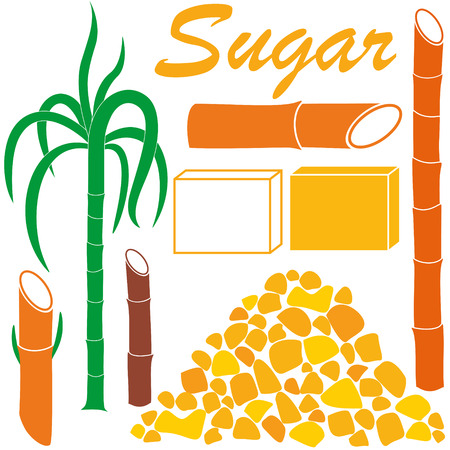 sugar cube: Sugar Illustration