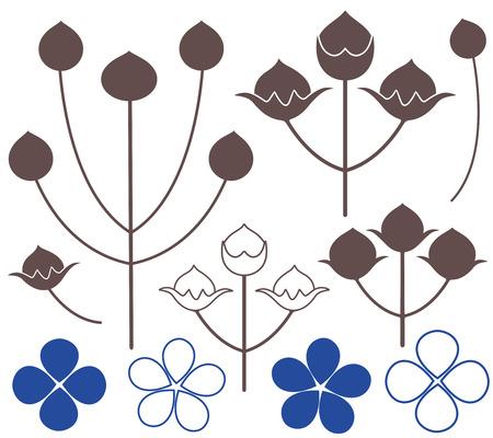 flax: Flax icon  Illustration