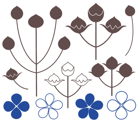 Flax icon  Illustration