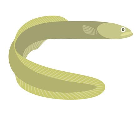 cartoon Eel Vecteurs