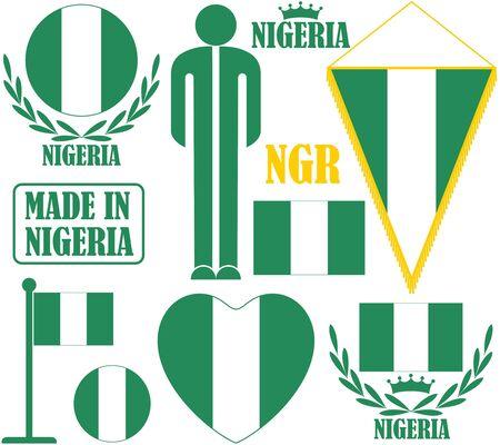 nigeria: Nigeria Illustration