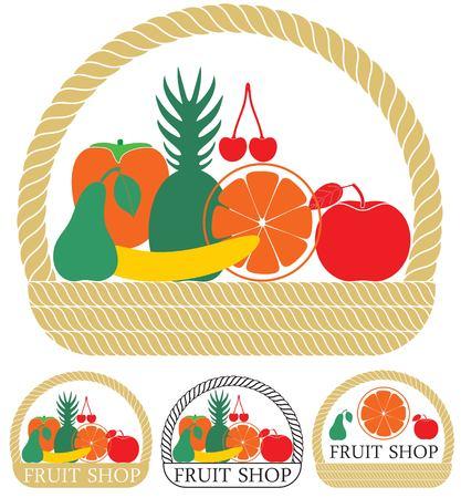 pannier: Fruit Illustration