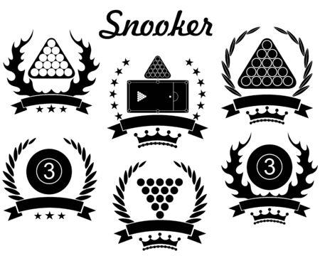 Snooker illustration  Vector