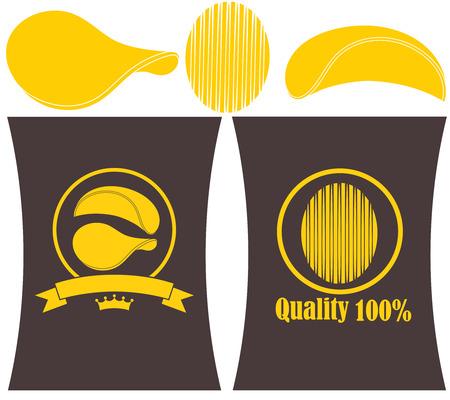 bag: Potato Chips illustration