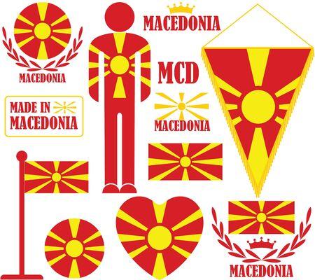 Macedonia Illustration