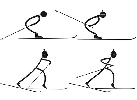 cross country skiing: Cross country skiing