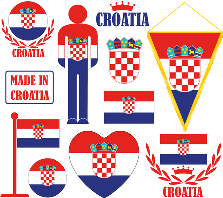 croatia: Croatia Illustration