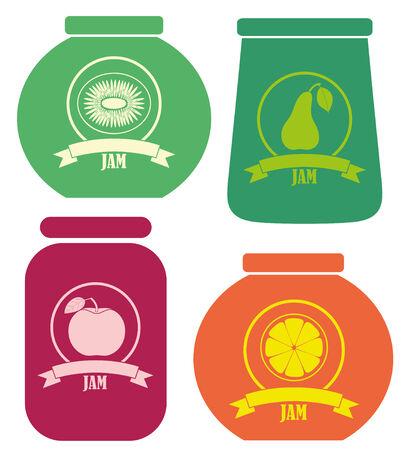 preserves: Conserva. Ilustraci�n Jam Vectores