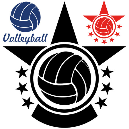 team sport: Volleyball illustration