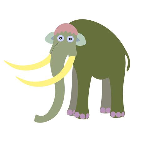 mammoth: Mammoth illustration  Illustration
