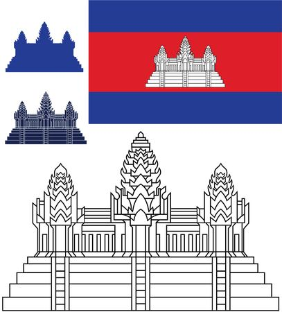 Cambodia Illustration
