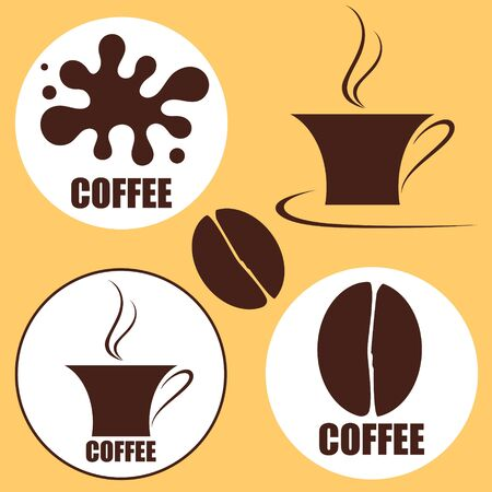 Coffee design element Vector