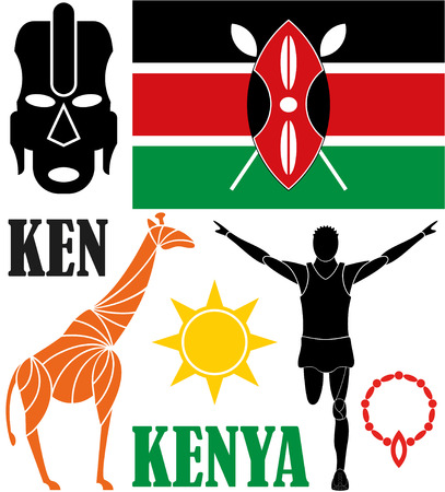 kenya: Kenya Illustration