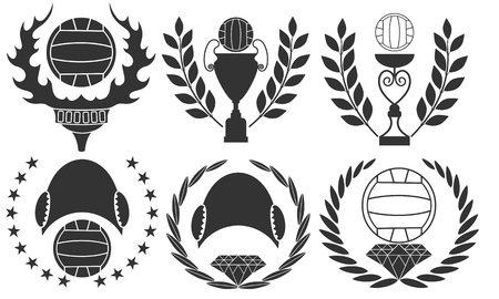 water polo: Water polo Illustration