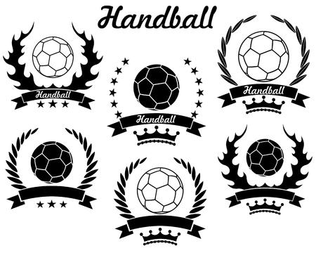 Handball 向量圖像