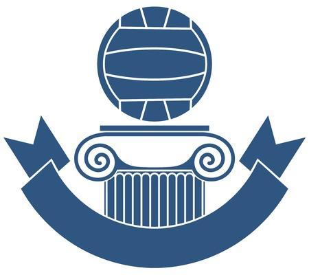 waterpolo: Waterpolo Stock Illustratie