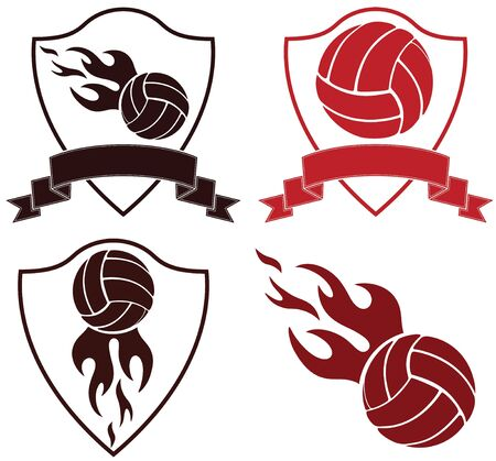 braun: Volleyball Illustration