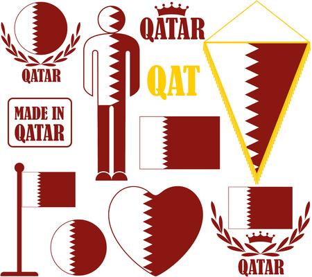 qatar: Qatar Illustration