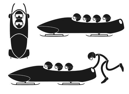 bobsleigh: Bobsleigh Illustration