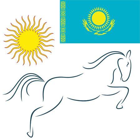 kazakhstan: Kazakhstan Illustration
