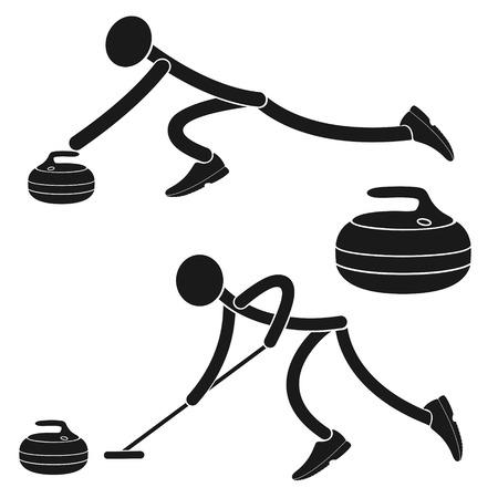 symbol sport: Eisstockschie�en