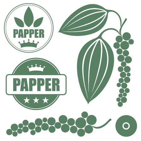 black pepper: Black pepper