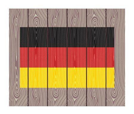 bandera alemania: Bandera de Alemania Vectores