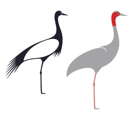 crowned: Crane