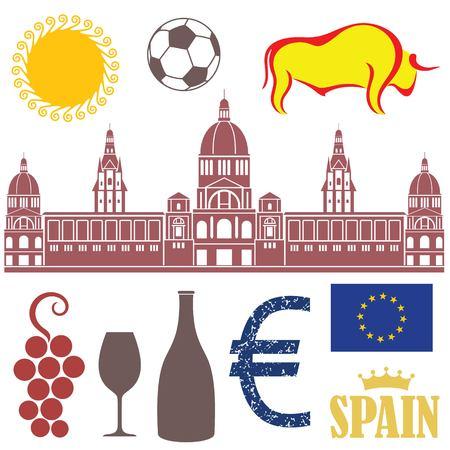 espanya: Spain Illustration